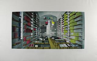 Thomas Huber: ohne Titel (Bibliothek)