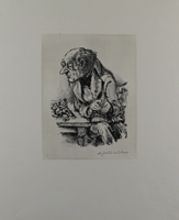A. Paul Weber: Schachspieler II