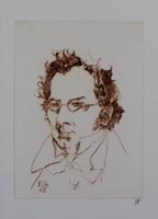 Horst Janssen: Franzl (Franz Schubert)