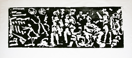 A.R. Penck: Komposition