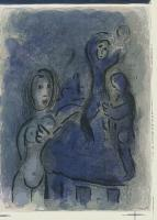 Marc Chagall: Rahab und die Kundschafter in Jericho