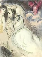Marc Chagall: Sarah und Abimelech
