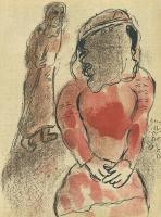 Marc Chagall: Thamar, die Schwiegertöchter Judas