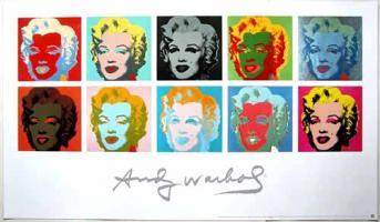 Andy Warhol: Ten Marilyns II