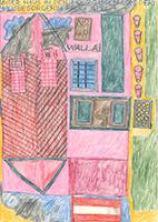 August Walla: Unser Haus in der Holzgassen vom der Hausbesorgerin Frau Apel
