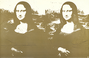 Andy Warhol: Two Golden Mona Lisa