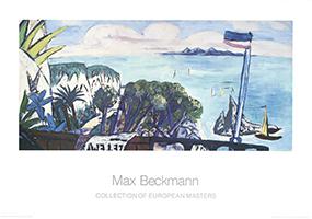 Max Beckmann: Grosse Rivieralandschaft