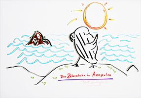 Helge Schneider: Das Zebrahuhn in Acapulco (will springen)