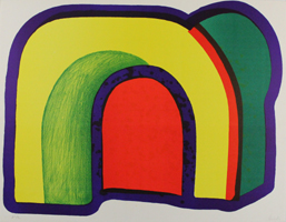 Howard Hodgkin: Composition with Red