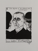 Horst Janssen: Berthold Brecht