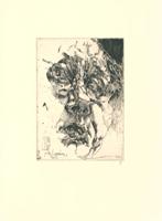 Horst Janssen: Selbstportrait