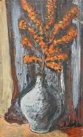 Friedrich Einhoff: Stilleben mit Blumen