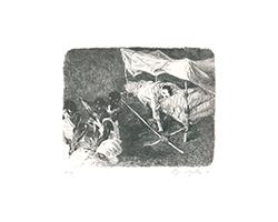 Johannes Grützke: Rimbaud gräbt ein Loch