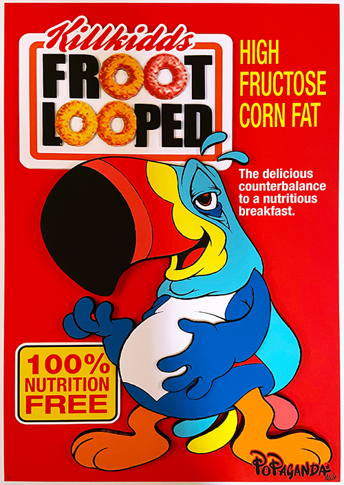 Ron English: Froot Looped