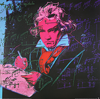 Andy Warhol: Beethoven - GROSS