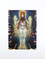 Ernst Fuchs: Jesus in den Schwingen des Cherubs