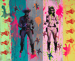 Shuby: Stripy Lone Ranger & Candy Barr