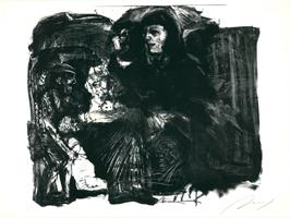 Alfred Hrdlicka: Portraitstudie