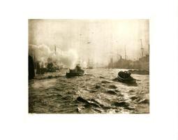Heinrich von Seggern: Hamburger Hafen