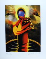 Mark Kostabi: Desire and the pool of faith