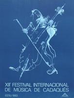 Joan Ponc: XII Festival int. de Musica de Cadaques