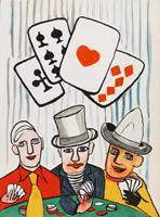 Alexander Calder: Kartenspieler
