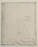 Wilhelm Lehmbruck: Liegender Mann, stehende Frau