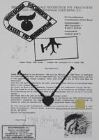 Joseph Beuys: Rundbrief F.I.U.