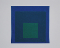 Josef Albers: Study for homage to the square: Beaming