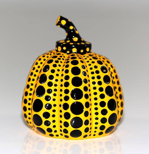 Yayoi Kusama: Pumpkin (yellow)