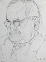 Rudolf Großmann: Portrai M v. Nemes