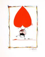 Wilhelm Schlote: Rouge et noir