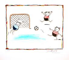 Wilhelm Schlote: Fußball