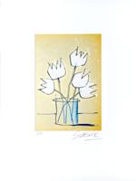 Wilhelm Schlote: Weiße Tulpen