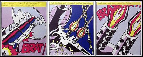 Roy Lichtenstein: As I opened fire