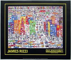 James Rizzi: It´s so hard to be a saint in the city
