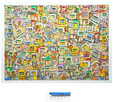 James Rizzi: Touch Someone With Your Thoughts, With Your Heart, With Your Eyes, With Your Finger, And With Email