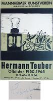 Hermann Teuber: Ölbilder 1950 - 1965
