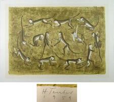 Hermann Teuber: Affen