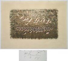 Hermann Teuber: Vogelschwarm