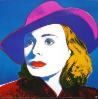 Andy Warhol: Ingrid Bergmann: With Hat
